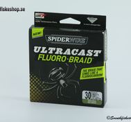 Spiderwire Ultracast Fluoro Braid Moss Green 114m